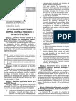 LEY 30309 - Ley Que Promueve La Investigacion Cientifica, El Desarrollo Tecnologico, Etc