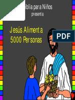 51 Jesús Alimenta 5000 Personas