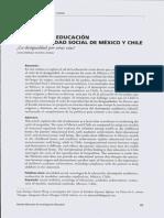 El Rol de la movilidad social de México y Chile