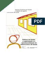 EPSJV Livro 3 Políticas de Saúde