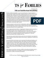 intellectual disabilities fast facts
