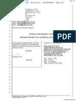 CLRB Hanson Industries, LLC et al v. Google Inc. - Document No. 167