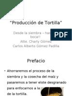 Producción de Tortilla
