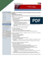Requisitos Para La Expedición y Entrega Del Pasaporte Electrónico Para Oficinas Regionales _ SAIME
