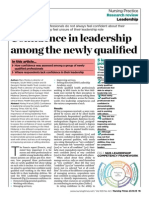 Confidence in Leadership Among the Newly Qualified2