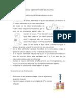 Descripcion de Tecnica Administracion de Vacunas