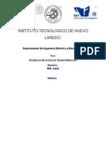 Fluidos Usados Como Aislantes en Transformadores de Distribución