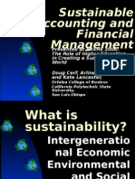 Big Picture Sustainable Accounting and Finance