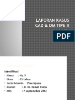 CAD dan DM type 2