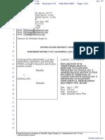 CLRB Hanson Industries, LLC et al v. Google Inc. - Document No. 173