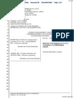 Roche Palo Alto LLC et al v. Apotex, Inc. et al - Document No. 36