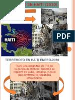 Terrmoto de HaitiAMPARO
