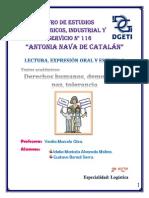Textos académicos - Derechos humanos, democracia, paz y tolerancia -