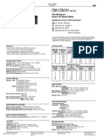 OMIH-SS-124LM - 16A Relay Datasheet