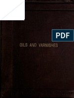 Oils and Varnishes (1886) by James Cameron
