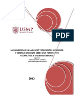 Universidad, Seguridad y Defensa Nacional