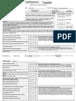 associate teacher winter practice teaching evaluation 2