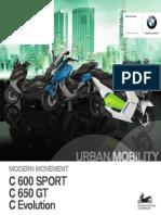 BMW Motorrad - Urban Mobility - C 600 Sport C 650 GT - MY 2014 - ESP Es 1
