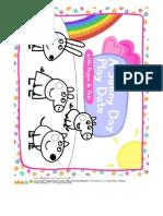 Peppa Pig Spring Coloring Book