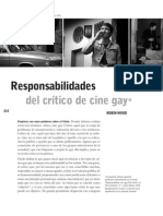 Responsabilidades Del Critico de Cine Gay - Robin Wood