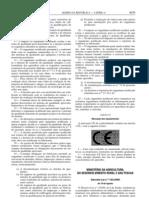 Aditivos Alimentares - Legislacao Portuguesa - 2000/08 - DL nº 193 - QUALI.PT