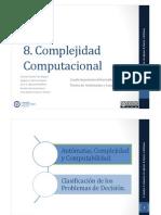 Complejidad presentación