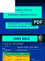 Agudeza Visual y Errores Refractivos