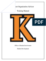 revised training manual 2014