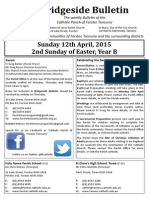 2015-04!05!2nd Sunday of Easter