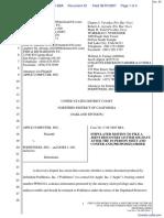 Apple Computer, Inc. v. Podfitness, Inc. - Document No. 42
