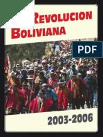 la revolucion boliviana