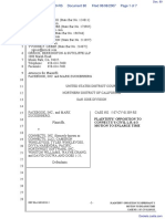 The Facebook, Inc. v. Connectu, LLC et al - Document No. 80