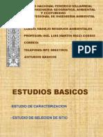 01 Estudios Basicos