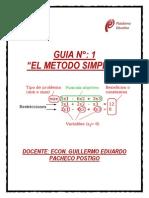 Guia 1 Metodo Simplex