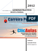 5190 APOSTILA Direito Administrativo - RECEITA FEDERAL - Professor Leonardo Torres
