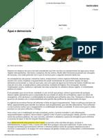 __ Le Monde Diplomatique Brasil __água