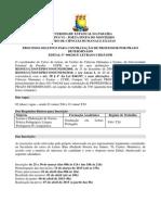 Letras - Câmpus de Monteiro - Edital 006-2015