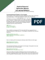 Multiplicadores de Lagrange  Matlab
