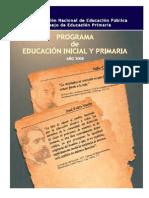 Programa educacion primaria