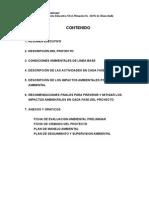Estudio Impacto Ambiental Huacchalla