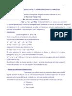 Ecuaciones Diferenciales de 2º Orden Completas