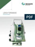 Leica TDRA6000 Brochure_es
