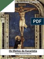 Santo Tomás de Aquino - Os Efeitos da Eucaristia