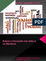 Vanguardas início séc.XX - Modernismo.pdf