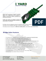 Dredge Yard Gate Valve Brochure