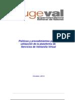 Políticas y Procedimientos Para La Utilización de La Plataforma de Servicios de Ventanilla Virtual (2)