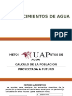 Metodos de Calculo de Poblacion _ Abastecimientos de Aguas