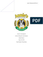 Annie's Macaroni and Cheese Plans Book