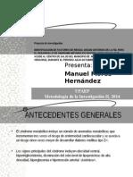 03. Diapositivas ''Proyecto de Investigación_Sx. Metabólico''