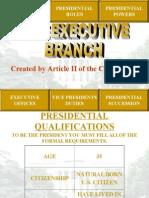 executivebranch powerpoint
